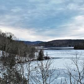 Winter on the Pepacton Reservoir by Carol McGrath