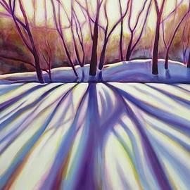 Winter Shadows Version II by Sheila Diemert