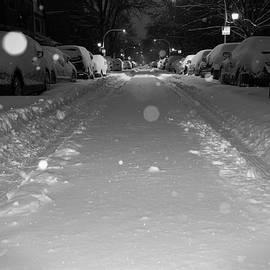 Winter Street, Chicago by Adam Matthews