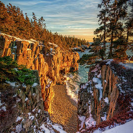 Winter Sunset at Raven's Nest by Rick Berk