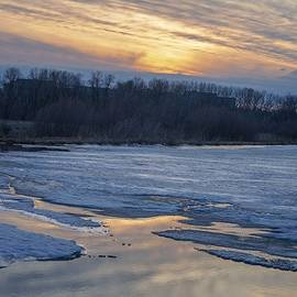Winter Sunset by Susan Rydberg