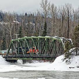 Winter Train by Rick Ulmer