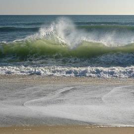 Winter Wave Dance by Ellen Paull