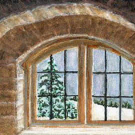 Winter Window by Marcella Chapman