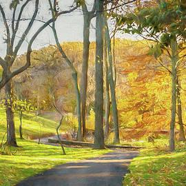 Autumn Walking Path  by Deborah League