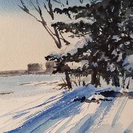 Wintery Afternoon by Sheila Romard