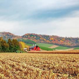 Wisconsin Farm by Todd Klassy