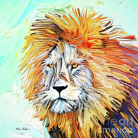 Wise Old Lion by Tina LeCour
