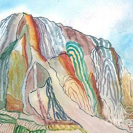 Wishbone Mountain by L A Feldstein