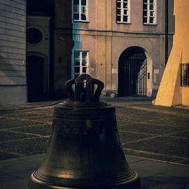 Wishing Bell In Old Town of Warsaw In Poland by Artur Bogacki