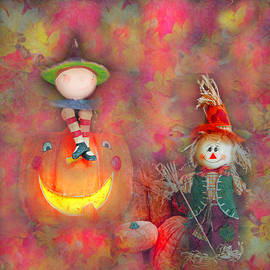 Witch and Scarecrow by Aimee L Maher ALM GALLERY