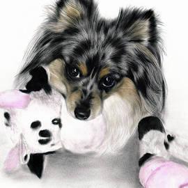 With Toy by Danguole Serstinskaja