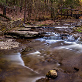 Wolf Creek Spring Pano by Mark Papke
