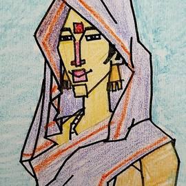 Woman by Artist Rajendraprasad