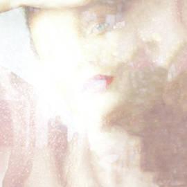 Woman behind a Curtain by Imi Koetz