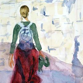 Woman in Jerusalem by Uma Krishnamoorthy