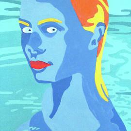 Woman in Pool by Randall Steinke