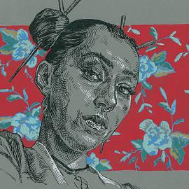 Woman portrait by Katarzyna Gagol