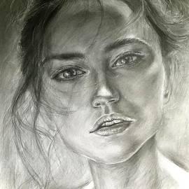 Woman Portrait  by Lavender Liu