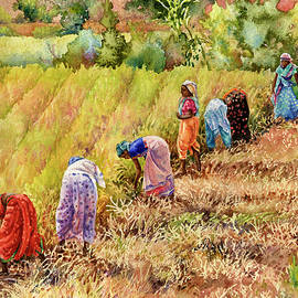 Women at Work by Anne Gifford