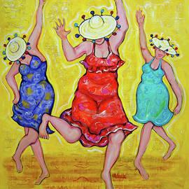 Women Dancing  by Rebecca Korpita