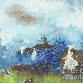 Women Storm. by Martine Harris