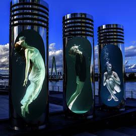 Women Water Chamber  by Barroa Artworks