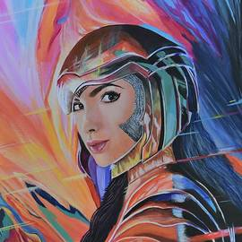 Wonder Woman Gal Gadot by Paula Goodman