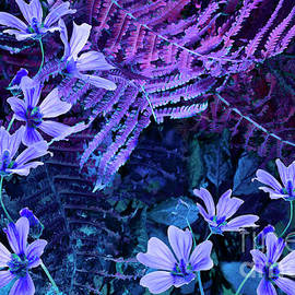 Wonderful old garden by Larisa Fedotova