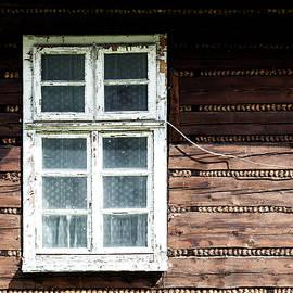 Wooden Window by Arro FineArt