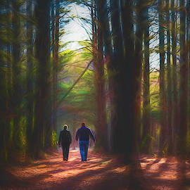 Woodland Stroll 2 by Jim Love