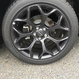 Sports Coupe Tire by Joseph Baril