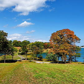 World's End in Hingham, Massachusetts by Lyuba Filatova