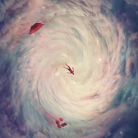 Wormhole To Wonderland by PsychoShadow ART