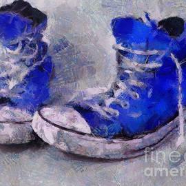 Worn Converse Sneakers by Dragica Micki Fortuna