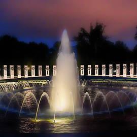 WW II Memorial by Kathi Isserman
