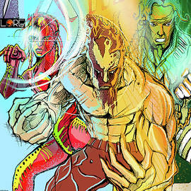 Xmanjaro Book Cover by John Jr Gholson