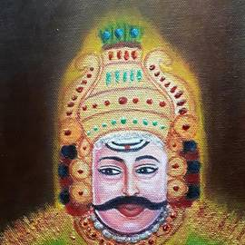 Yakshagana by Tanuja Rangarao