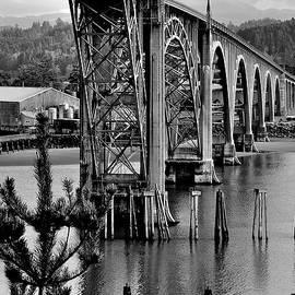 Yaquinna Bay Bridge - Newport - Oregon by Artistic Oregon Photo