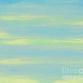 Yellow Clouds Blue Sky by Ann Brown
