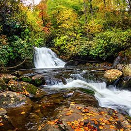 Yellow Creek at Autumn by Debra and Dave Vanderlaan