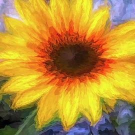 Yellow Impression  by Rebecca Langen