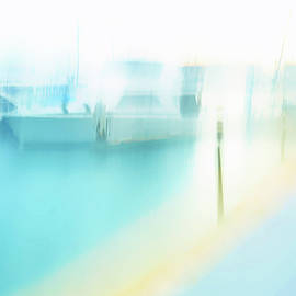 Yellow Jetty by Angelika Vogel