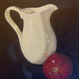 Yellow pitcher by Colette Lee