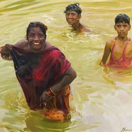 Yellow River by Victoria Kharchenko