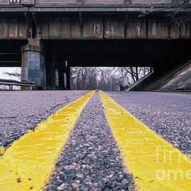Yellow Roads by Len Tauro