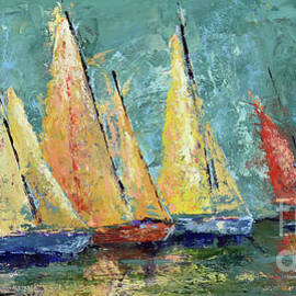 Yellow  Sails by Patricia Caldwell