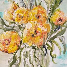 Yellow Still Life by Eloise Schneider Mote