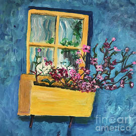 Yellow Window Box by Kiersten Marek