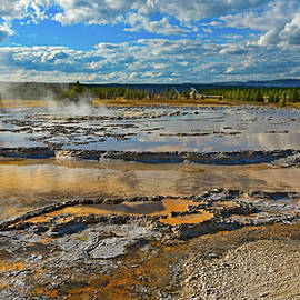 Yellowstone National Park - Hot Spring by David Hintz